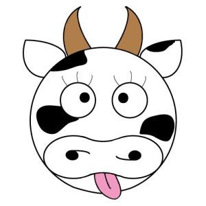 Didou & cow logo vache