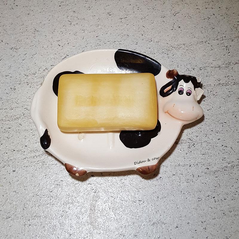 Porte-savon vache