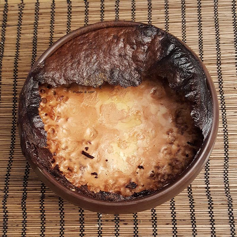terrine de teurgoule, croute ouverte