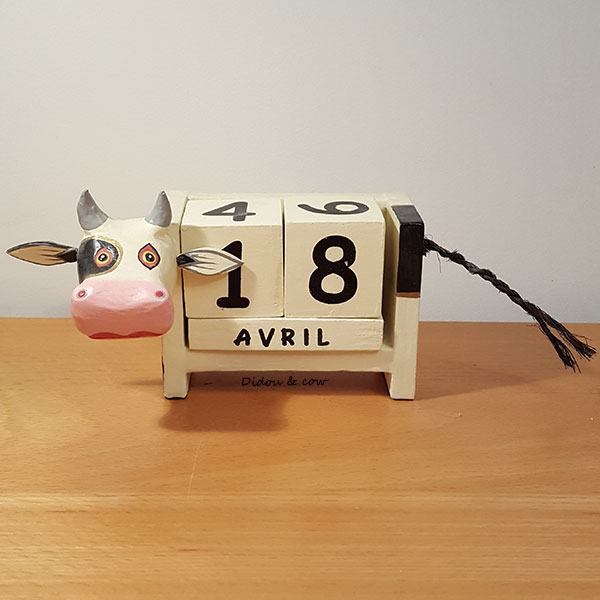 calendrier vache au 18 avril